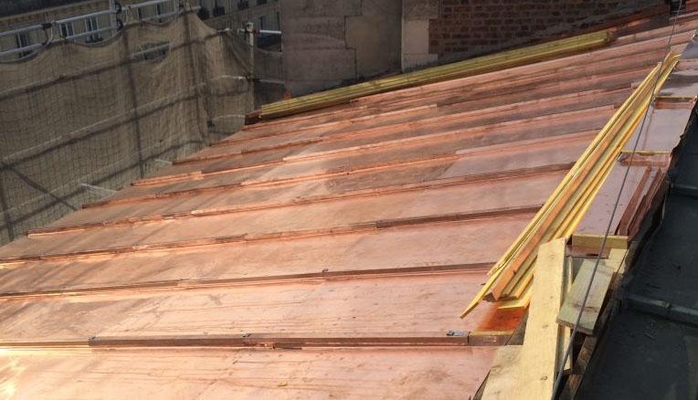 rénovation toiture paris